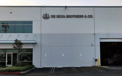 Multiple Building Signs for De Silva Brothers & Co. in Pico Rivera, CA