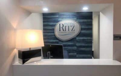Interior Logo Signs for Pacific Ritz in Encino, CA