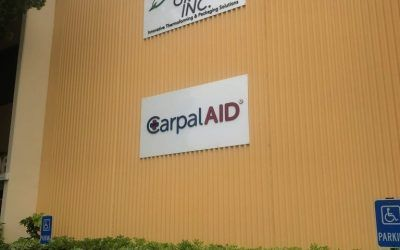 Exterior and Interior Signage for CarpalAID in Chatsworth, CA