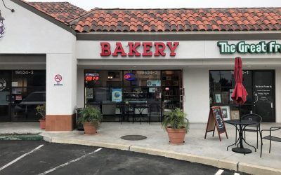 Storefront Sign for Bakery in Northridge, CA