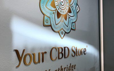 Signage for New Your CBD Store in Northridge, CA