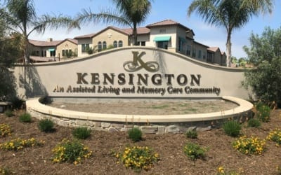 Exterior Signage for The Kensington in Redondo Beach, CA