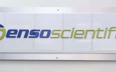Acrylic Panel Sign for Electronics Manufacturer in Simi Valley, CA
