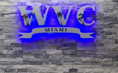 Lighted Lobby Sign for WVC Miami in Miami, FL
