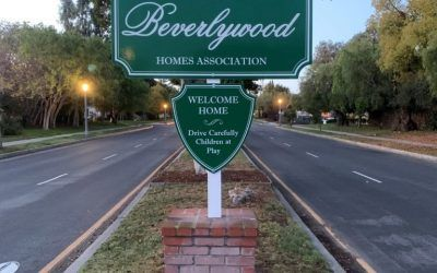 Custom Exterior Signs for Beverlywood Homes Association in Beverlywood, CA