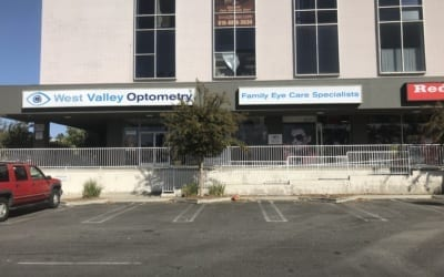 New Sign Faces for Optometrist in West Hills, CA