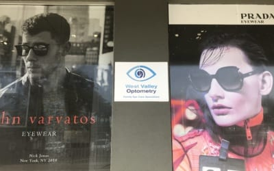 Outdoor Signs for West Valley Optometry in West Hills, CA