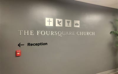 Aluminum Dimensional Letter Signs for Church in Los Angeles, CA