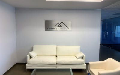 Lobby Sign for Commonwealth in Los Angeles, CA