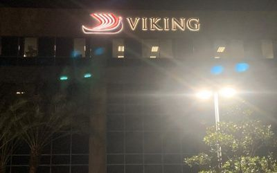 Exterior Signage Update for Viking in Woodland Hills, CA