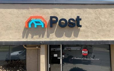 Custom Channel Letter Sign for Post Alarm in Arcadia, CA