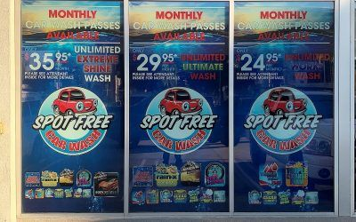Window Graphics for Chevron in North Hollywood, CA